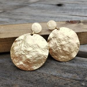 Gold Toned Earrings